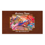 Abstract - Paper - Origami Double-Sided Standard Business Cards (Pack Of 100)