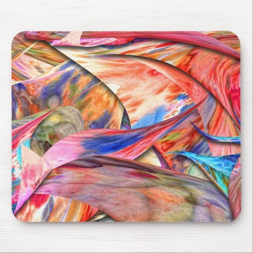 Abstract - Paper - Origami Mouse Pad