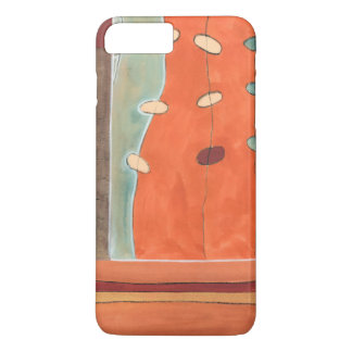 Abstract Parade of Eggs by Erica J Vess iPhone 8 Plus/7 Plus Case