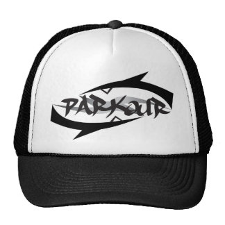 Abstract Parkour Hats