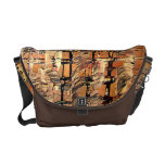 Abstract part by rafi talby messenger bag