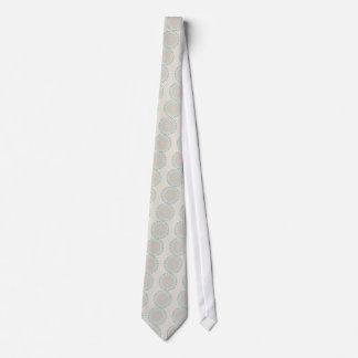 Abstract Pastel Colors Mandala Tie