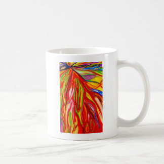 Abstract Pastel Flow (Abstract Expressionism) Coffee Mug