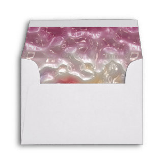 Abstract Pastel Gel Envelopes