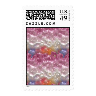Abstract Pastel Gel Postage