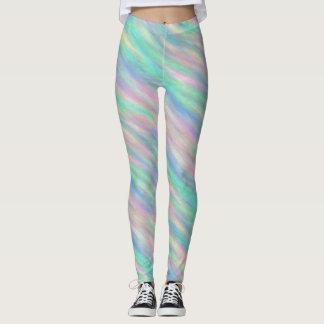 Abstract Pastel Leggings