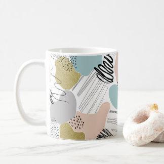 Abstract Pastel Mug