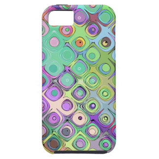 Abstract Pastel Pattern iPhone SE/5/5s Case