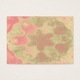 Abstract pastel stylized flower texture business card