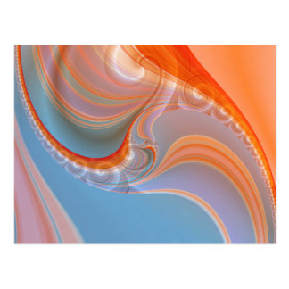 Abstract pastell created by Tutti Postcard