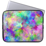 Abstract Patches of Color Laptop Computer Sleeve