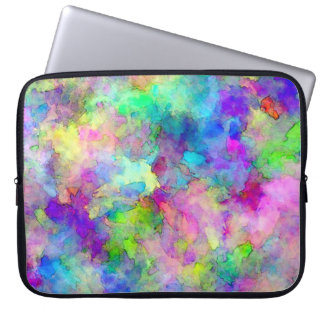 Abstract Patches of Color Laptop Sleeve
