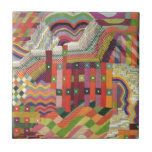 ABstract patchwork design Tiles