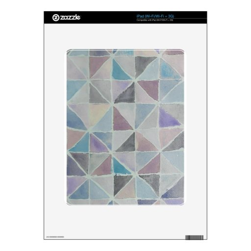 Abstract Pattern 1 Decal For The iPad