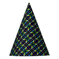 Abstract pattern 22 party hat