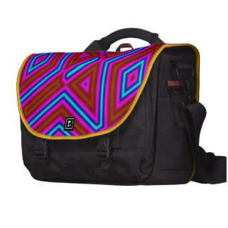 Abstract pattern 3 color bags for laptop