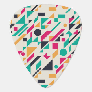 Abstract pattern 3 guitar pick