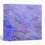 Abstract pattern 3 ring binder