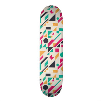 Abstract pattern 3 skateboard deck