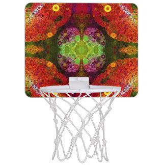 Abstract Pattern Basketball Hoops Mini Basketball Hoop