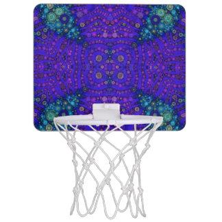 Abstract Pattern Basketball Hoops Mini Basketball Backboard
