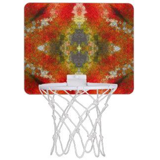 Abstract Pattern Basketball Hoops Mini Basketball Hoops
