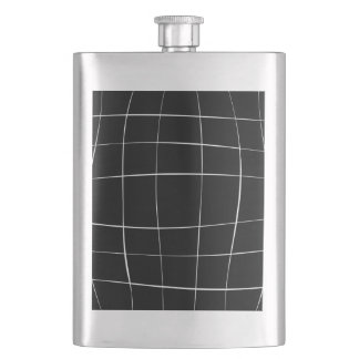 Abstract  pattern - black and white. flask