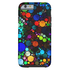 Abstract Pattern Bling Iphone6 Tough Tough Iphone 6 Case at Zazzle