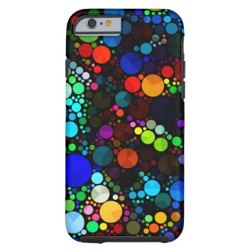 TeensEyeCandy Abstract Pattern Bling iPhone6 Tough Tough iPhone 6 Case