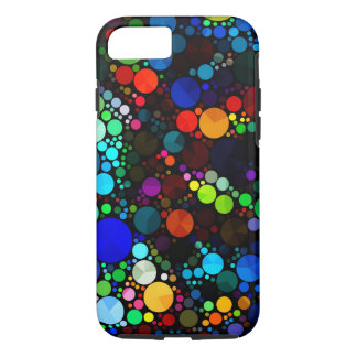 Abstract Pattern Bling iPhone 7 Tough iPhone 8/7 Case