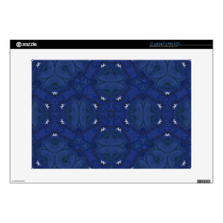 "Abstract Pattern Blue Decal For 15"" Laptop"