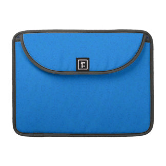 Abstract Pattern Blue MacBook Pro Sleeves