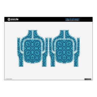 Abstract Pattern blue Tritton Headset Skins