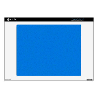 """Abstract Pattern Blue 14"""" Laptop Decal"""