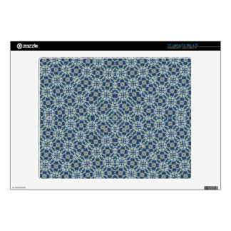 "Abstract Pattern Blue Skin For 14"" Laptop"