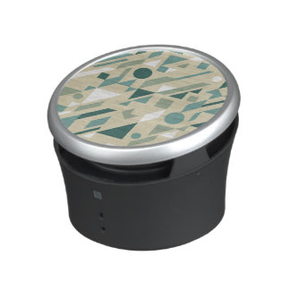 Abstract pattern bluetooth speaker