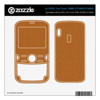 Abstract Pattern Brown ALCATEL Tribe Skins