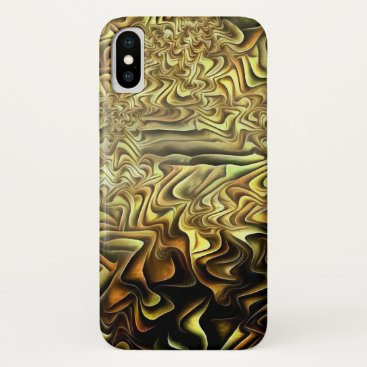 Abstract pattern iPhone x case