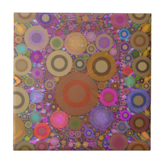 Abstract Pattern Ceramic Tile