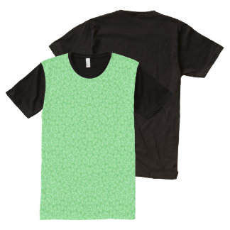 Abstract Pattern cool nice green All-Over Print T-shirt
