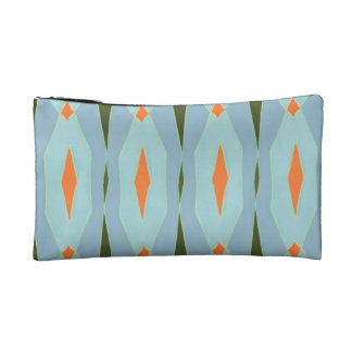 Abstract Pattern Cosmetic Bag
