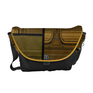 abstract pattern courier bag