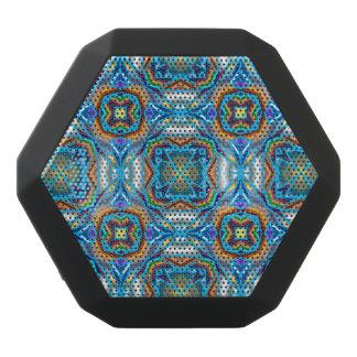 Abstract Pattern Customizable Black Bluetooth Speaker