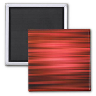 Abstract Pattern Dark Red Lines Magnet