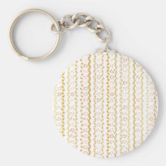 Abstract Pattern Design Keychain