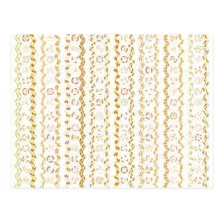 Abstract Pattern Design Postcard