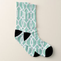 Abstract pattern design socks