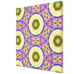 Abstract Pattern Design Stretched Canvas Print