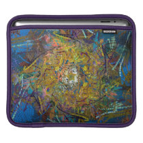 Abstract Pattern Glass Effect iPad Sleeve