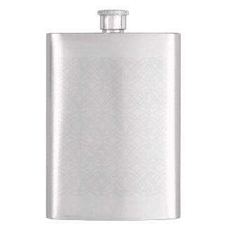 Abstract pattern - gray and white. flask